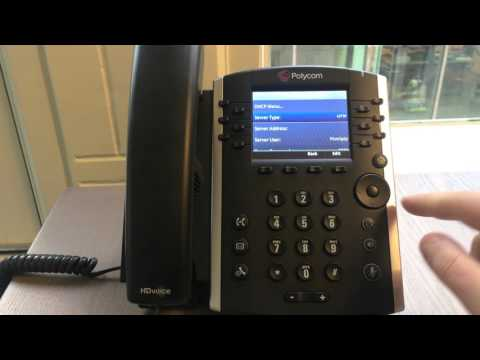 Dynamix UC Platform - How to manually provision the Polycom VVX 400 and 410