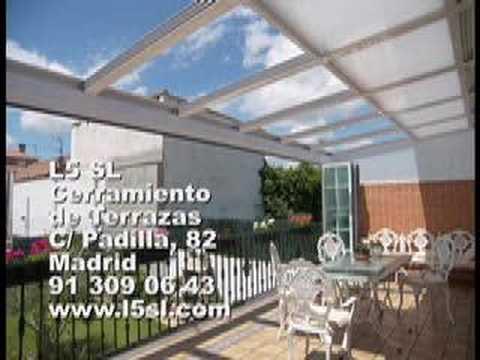 L5 sl cerramientos de terrazas video 4 cerramiento de aluminio cerramiento de madrid youtube - Cerramiento de aluminio ...
