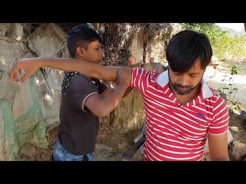 ASMR Street Kid Barber Head Massage
