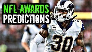 2018 NFL Awards Predictions: Brady * Gurley * Wentz