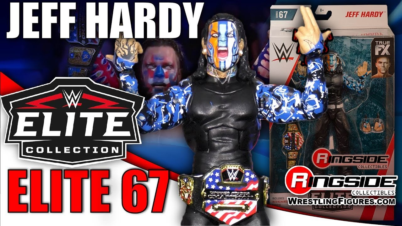 Jeff Hardy-Elite Serie 67-figura De Lucha WWE Mattel