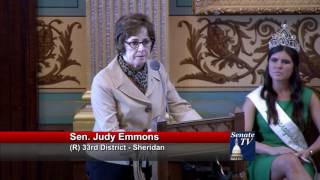 Sen. Emmons discusses women forced to have abortions