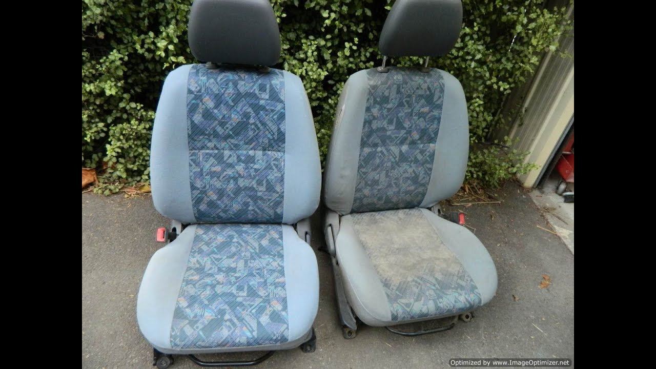 How to clean car seat upholstery for about a dollar youtube for How to clean interior car seats