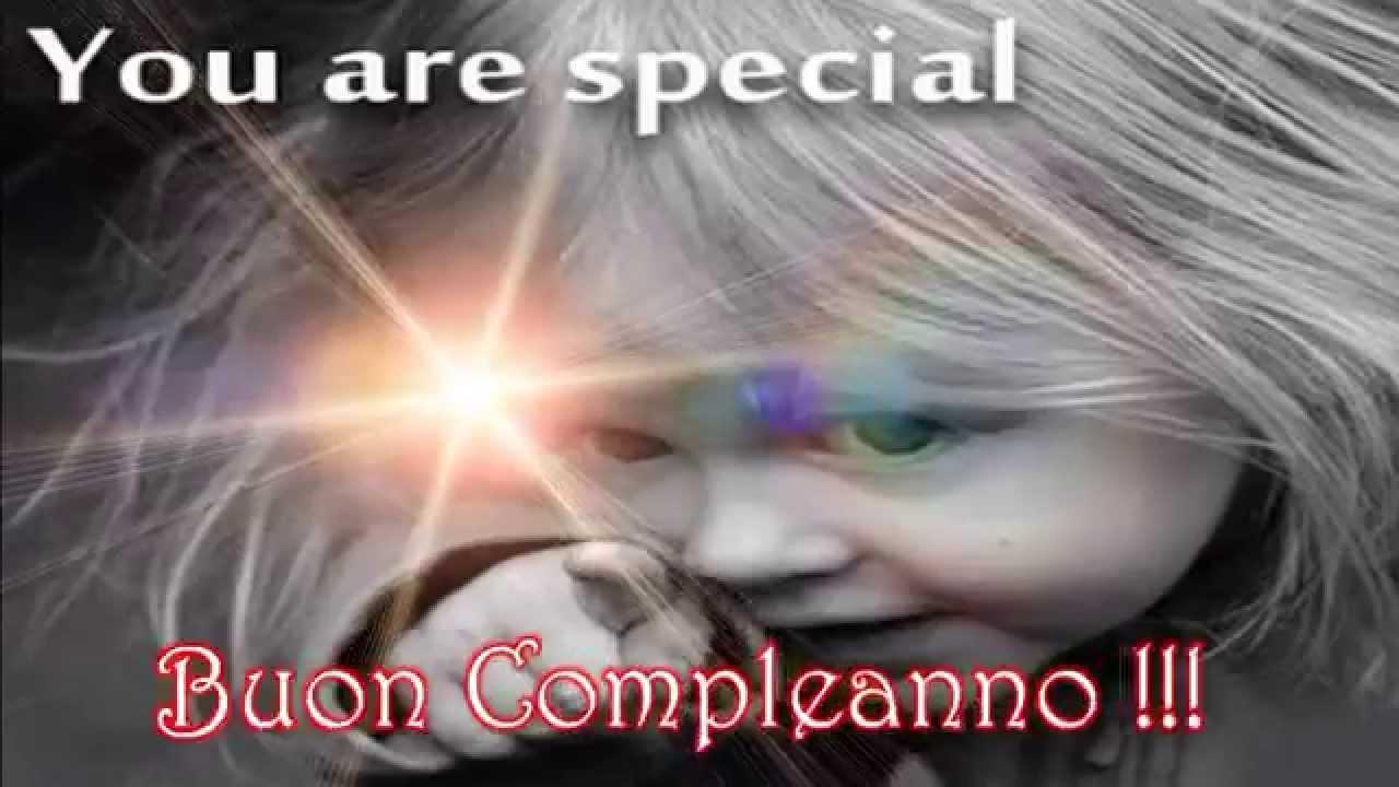 Famoso Buon compleanno ad una persona speciale come te.(Dedica per tutte  UY92