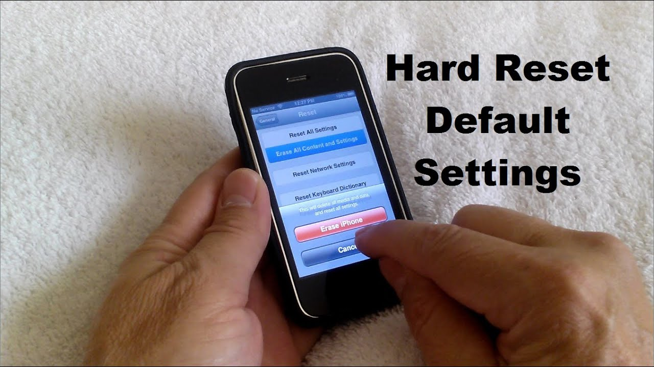 how to factory reset iphone 4s master reset iphone 5 5s 5c 4 4s 3 amp 3gs 3976