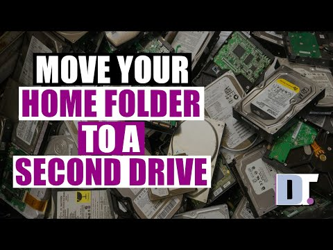 Move Your Home Directory To A Second Drive