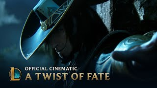 A Twist of Fate | Cinematic - League of Legends(The battle seems decided... until there is a Twist of Fate. Experience your favorite League of Legends champions as you've never seen them before in the new ..., 2013-05-26T06:54:28.000Z)