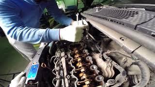 регулировка клапанов Хонда Фит, замена свечей