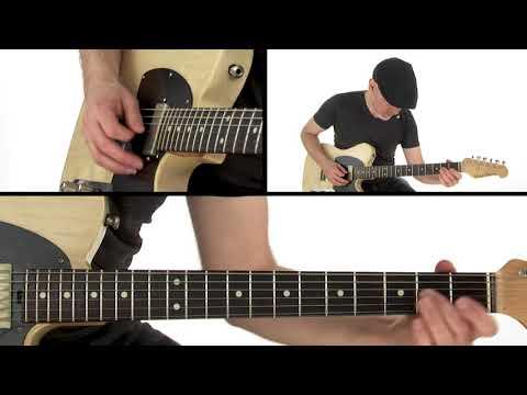 Smoke Stack Lightning (Howlin' Wolf) Guitar Lesson - Breakdown - Jeff McErlain