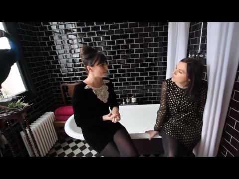 Sali Hughes: In the Bathroom with Gizzi Erskine