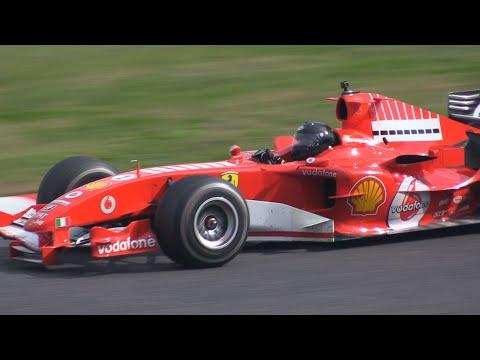 V10サウンドのフェラーリF-1ってこのマシンが最後なんですね / Ferrari F2005 at SUZUKA Sound of ENGINE 2018