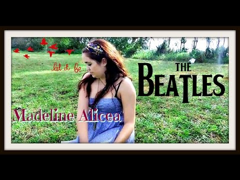 Let it be- Madeline Alicea Ft. Akinoboa (Reggae Version Cover)