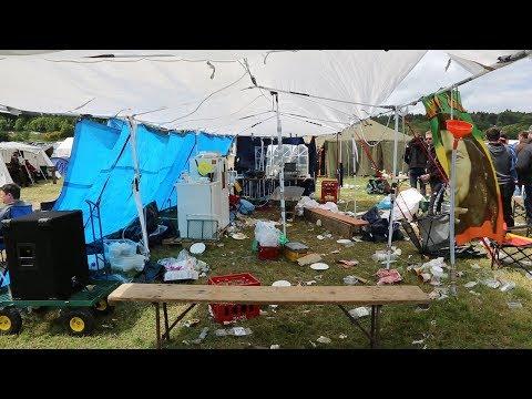 Schrott am Ring - Müllcamper bei Rock am Ring sorgen für Ärger