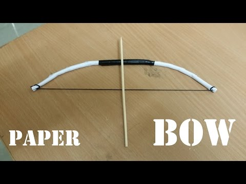 How to make a Mini Paper Bow (crazyPT's design)
