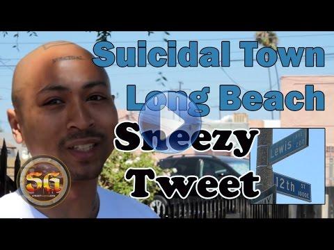 Sneezy Tweet, rapper from Eastside Long Beach, Suicidal Town