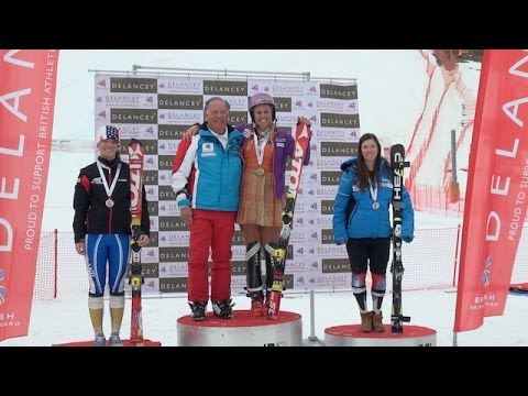 Chemmy Alcott's last race - Ski Club Snowcast 11 April