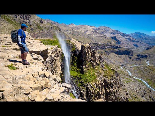 CASCADA INVERTIDA + 4 rutas en Valle de los Cóndores, Chile (parte 2)