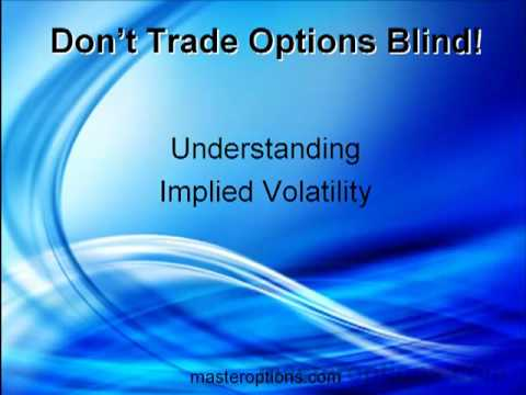 also know your implied volatility rh marketcalls