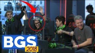 TioTrident na Brasil Game Show 2018