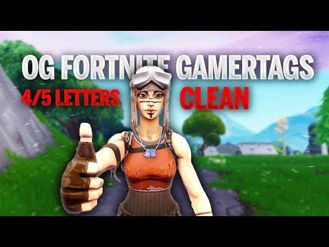 20 Clean Fortnite Gamertags Cool Fortnite Names Not Used