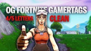 Clean OG 4/5 Letter Fortnite Gamertags
