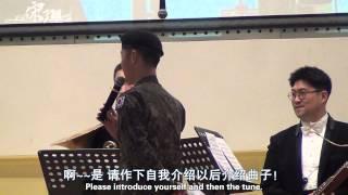 [Chi/Eng] 宋仲基 송중기 Song JoongKi at Korean International School/China PART-1 (HD)