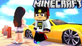 Майнкрафт Выживание Подарил Машину Девушке Майнкрафт ПЕ Minecraft PE #для детей #мультик игра и Дети