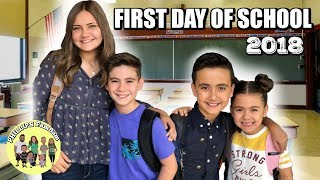 FIRST DAY OF SCHOOL 2018 | BACK TO SCHOOL VLOG
