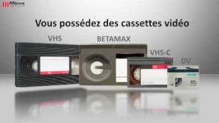 Logiciel Sauvez vos Cassettes Vidéo - Micro Application