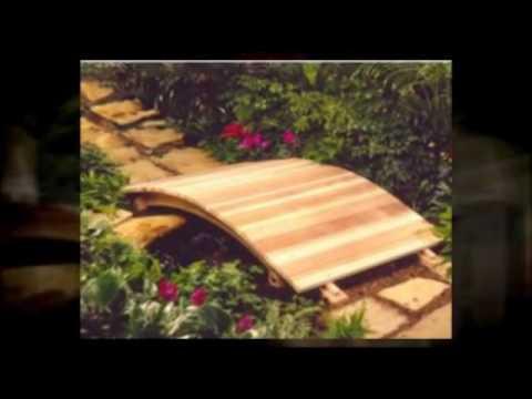 Wooden Garden Bridges   YouTube