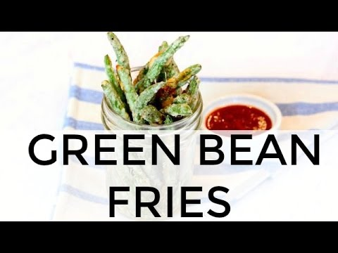 Baked Green Bean Fries | Clean & Delicious - YouTube
