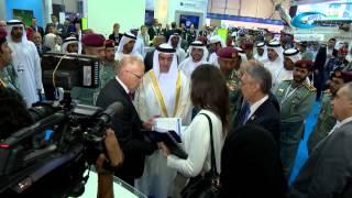 H.H. Sheikh Saif bin Zayed Al Nahyan Visits ISNR 2014