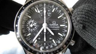 omega speedmaster chronograph mark 40 day date month ref 3520 50 function testing