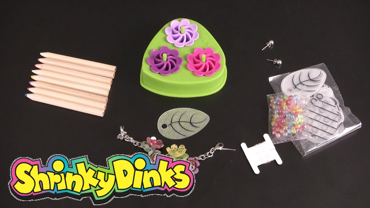 Image result for shrinky dinks 3 d flower