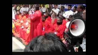 Repeat youtube video Jacobite Syrian Orthodox Church Metropolitans and priests fast in front of Trivandrum Secretariat