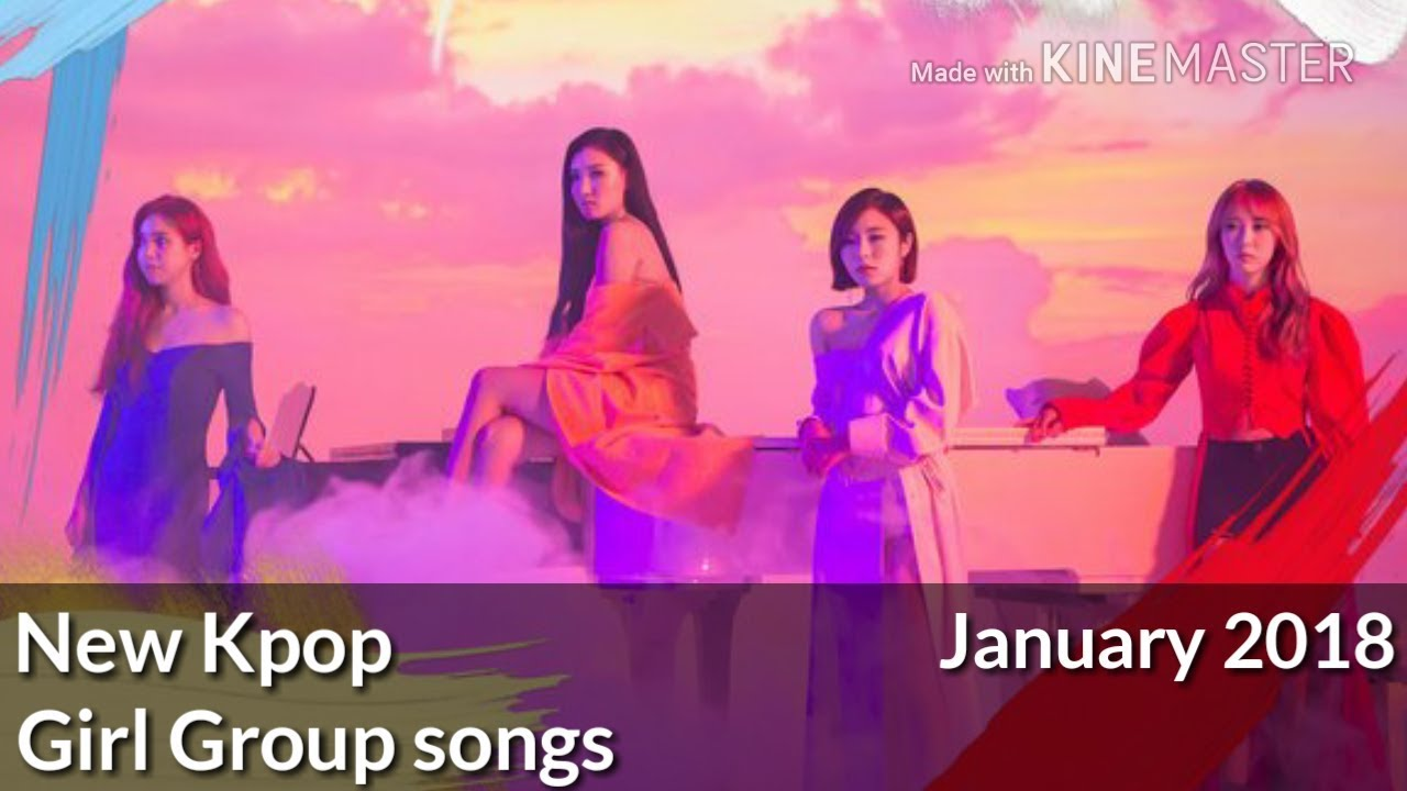New kpop girl group songs (January 2018)