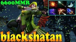 Dota 2 - blackshatan 6600 MMR Plays Windranger Vol 3  - Ranked Match Gameplay!