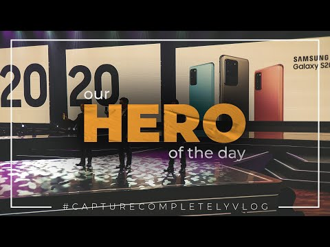 #CaptureCompletelyVlog - Our Hero of The Day | #VLOG02