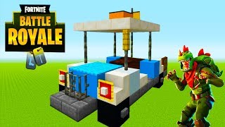 "Minecraft: How To Make a Fortnite Golf cart ""Fortnite Battle Royale"""