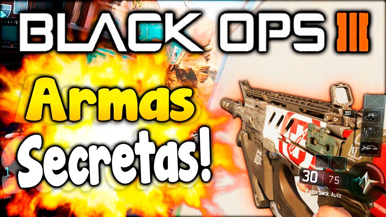 "ARMAS SECRETAS EN BLACK OPS 3!! ""M27, Mp7, Remington"