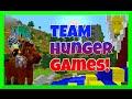 MINECRAFT | TEAM HUNGER GAMES GamePlay | Gamer Chad | GO TEAM HEART!