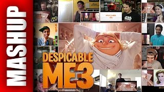 DESPICABLE ME 3 Trailer 2 Reactions Mashup