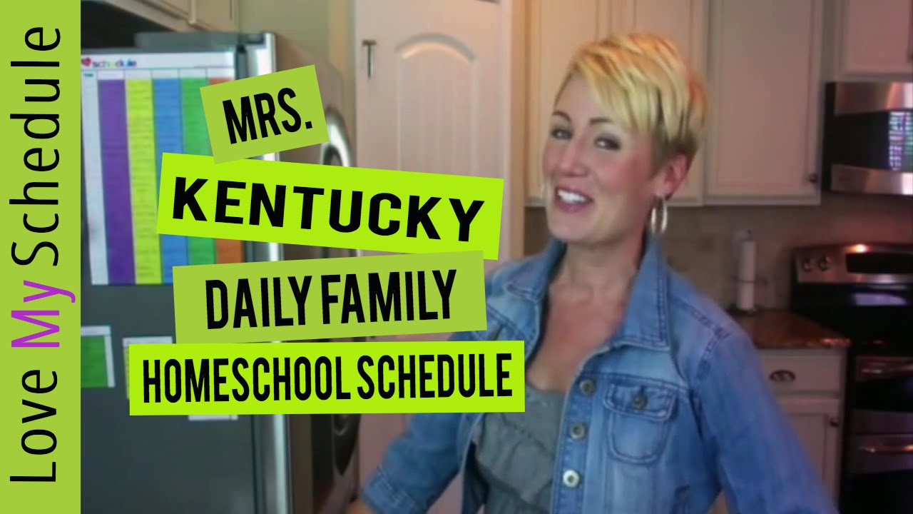 daily family schedule homeschool schedule and chore chart love my
