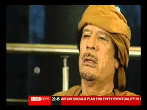 Full Colonel Gaddafi interview 02 March 2011