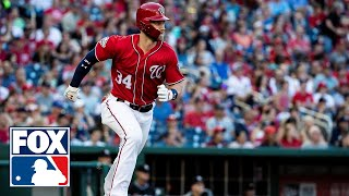 The Whiparound crew talk about Bryce Harper's lack of hustle against the Mets | MLB WHIPAROUND