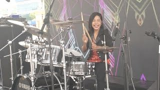 Khalifah Hang Pi Mana LIVE Drum Cover by Nur Amira Syahira.mp3