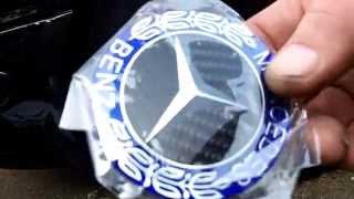 Mercedes wheel center caps