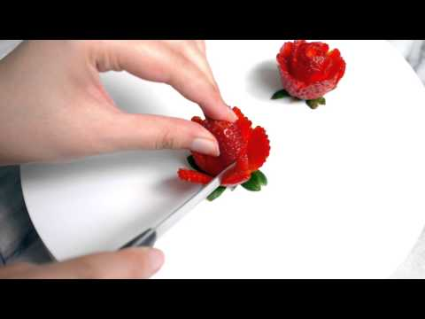 Strawberry Rose Tutorial