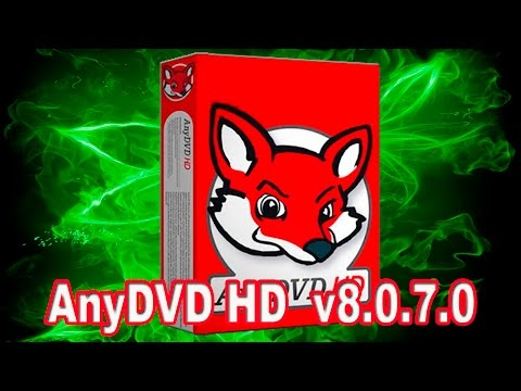 RedFox AnyDVD HD 8.0.7.0 With Crack | 2017