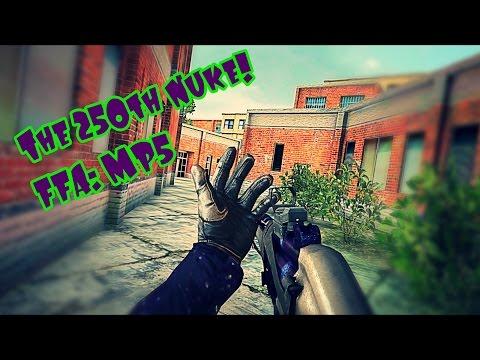 The 250 Nuke w/ MP5: FFA - Bullet Force